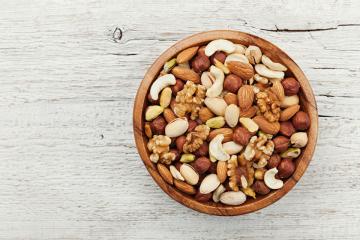 Propiedades y beneficios de comer frutos secos