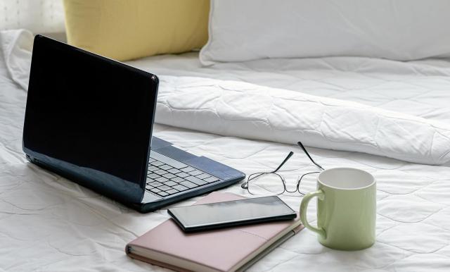 Por qué no deberías trabajar desde la cama