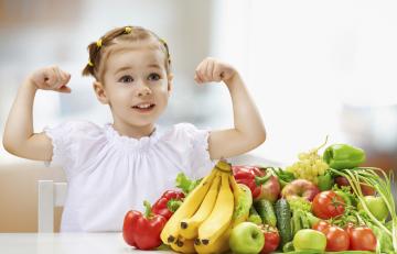 Alimentos para subir las defensas de tus hijos