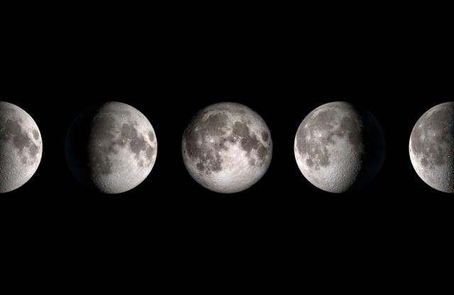 Calendario lunar 2021 en México