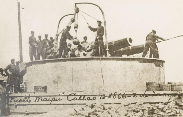 Cómo fue la Batalla del Callao o Combate del 2 de mayo