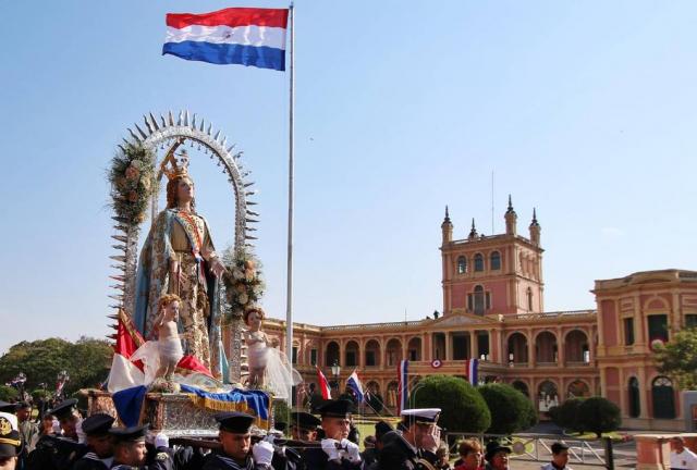Origen de la Fiesta de la Asunción de la Virgen, patrona de Paraguay