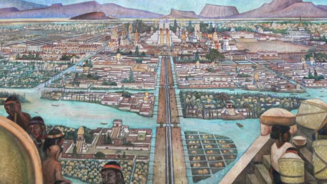 Cuándo y cómo fue la fundación de la gran Tenochtitlán